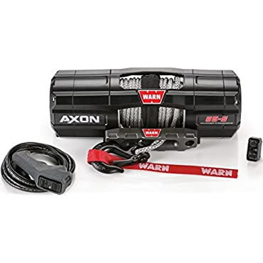 WARN 101150 AXON 55-S Powersports Winch With Spydura Synthetic Rope