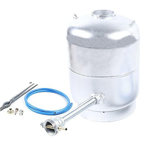 Horno de fundición de 6 kg – Gas propano Estufa de fundición de oro, fundición con cono de derretido, forma de cono y pinzas para oro, plata, aluminio, cobre, latón, 1400 °