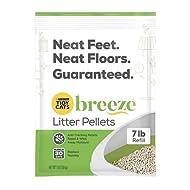 Purina Tidy Cats Litter Pellets, Breeze Refill Litter Pellets in Recyclable Box - (1 box of 4) 7 lb....