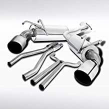 Autozensation For Camaro Hi-Performance 3.6L V6 Dual Catback Exhaust System Muffler Tip