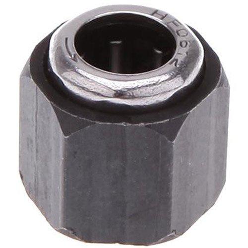 SODIAL(R) ecrou Hexagonal Hot R025-12mm Pieces Hex Nut One Way Palier pour HSP 1:10 RC Car Nitro Moteur UK