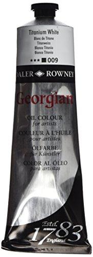 Daler-Rowney Georgian Oil Colours Titanium White 225 ml