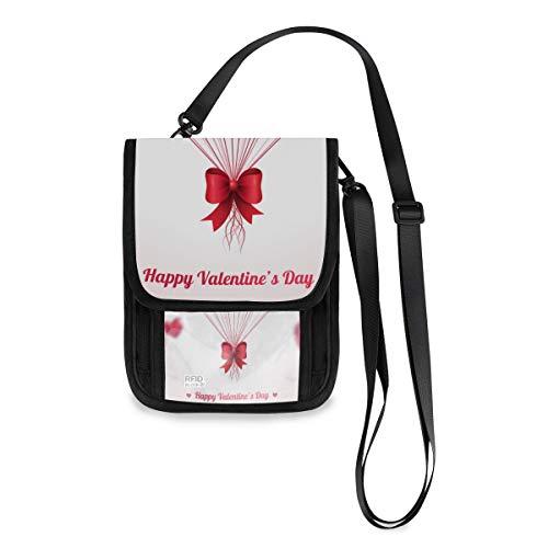 Fashion Coin Case kaarthouder Phone Bag portemonnee grote capaciteit Valentijnsdag mooi hart ballon portemonnee