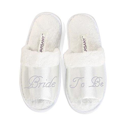 """Pantofole per sposa con scritta """"Bride to be"""" per..."""