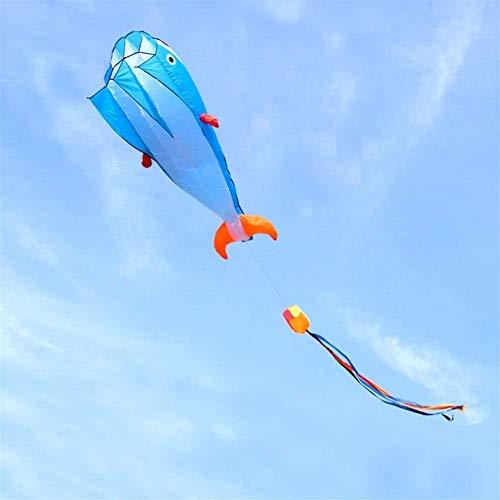 Forte e Robusto Aquilone, Bambini Kite Belle Aquiloni for Kids Facile da pilotare for la Spiaggia di qualità Esterna antistrappo 1,8 m Delta Dual Line Stunt Kite Scheletro Duro (Colore: Viola)
