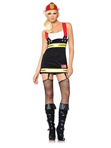 Costume pompiere sexy donna