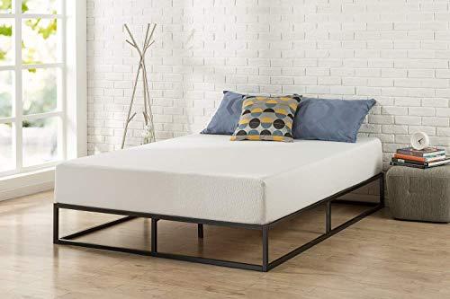 Zinus (ジヌス) すのこ ベッド フレーム セミダブル 25cm メタル Platforma 【日本正規品】