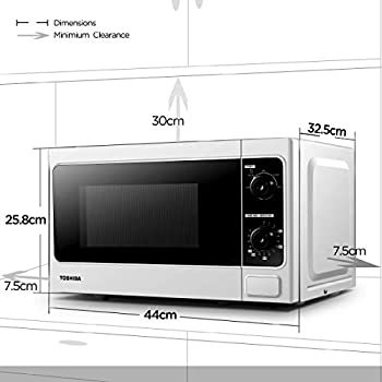 Toshiba Microwave Oven MM MM20P