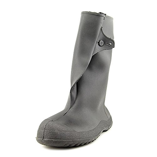 Tingley Rubber Women's 10-inch Overshoe with Button Mid Calf Boot, Black, 2X-Large