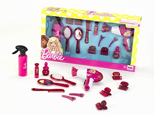 Theo Klein 5800 Barbie Mega Frisierset, Mädchen