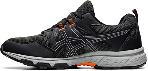 ASICS Herren Gel-Venture 8 Trail Running Shoe, Black/Sheet Rock, 44.5 EU