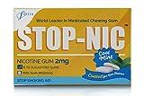 STOP-NIC Nicotine Gum 2mg, Cool Mint, Sugar-free, Stop Smoking Aid, 10 Gums Per
