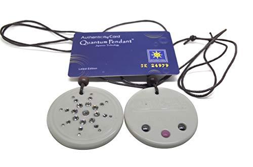 White Emf Protection Life Force Scalar Pendant Necklace,scalar Orgone Radiation Protection Kit