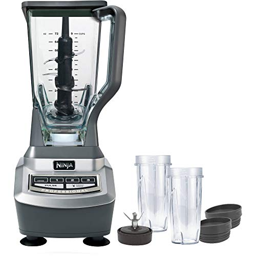 Ninja Professional Blender (BL660) Nutri Ninja Cup (Renewed)