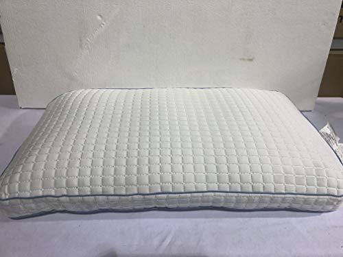 "Simply Cool Pillow PureLux Gel Memory Foam Pillow Queen 18"" x 30"