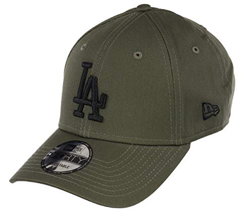 New Era Los Angeles Dodgers 9forty Adjustable Cap League Essential Olive/Black - One-Size