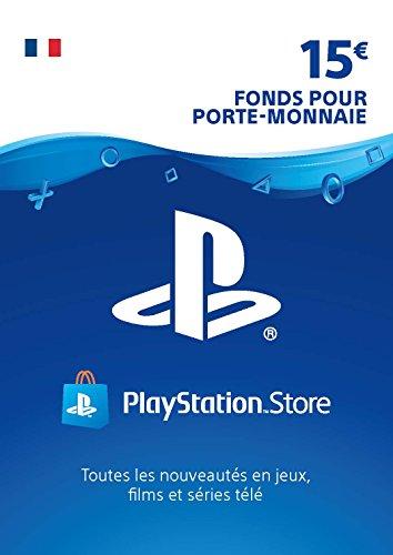Carte PSN 15 EUR | Compte français | Code PSN à télécharger