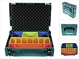 Makita Makpac Gr. 1 inklusive Boxeneinsatz P-83652 + Deckeleinlage Schaumstoff
