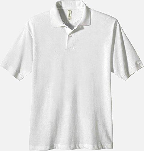 econscious Men's 100% Organic Cotton Pique Polo Shirt