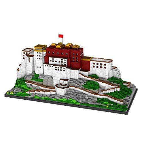 Kunze Nano-Miniatura módulos previstos for la alimenta Educación de Bricolaje Juguetes Regalos Edificios Famosos Chinos (Potala Palace)