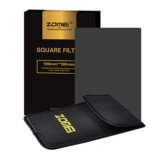 Zomei Full Grey Neutral Density ND8 Square Z-PRO Series Filter for Cokin Z Lee Hitech 4X4 Holder 150100mm