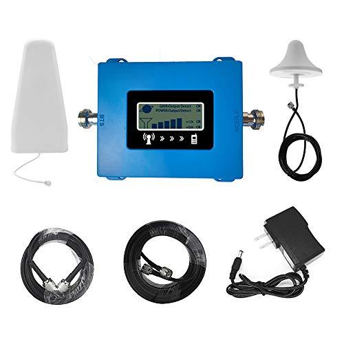 Amplificador de la señal del repetidor 2 / 3G GSM 900 Mhz señal del teléfono móvil Repetidor Amplificador Para Mejorar la calidad de la llamada universal Europea con Antena Componentes