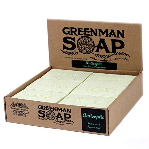 Greenman Zeep 100g - Antiseptische vlek aanval - GMSoap-05