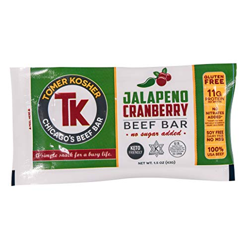 Jalapeno Cranberry Beef Bar - 12 Count
