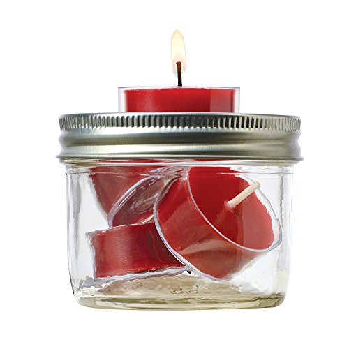Jarware 82613 Tealight Holder for Regular Mouth Mason Jars