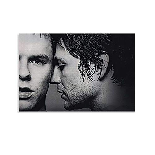 JHDSL Queer As Folk US Classci Drama Boys Love Homosexuelle Poster décoratif sur toile pour salon, chambre à coucher 50 x 75 cm