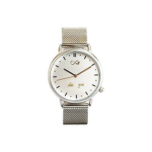 Reloj de Mujer Silver Icon by Chic You: analógico con...