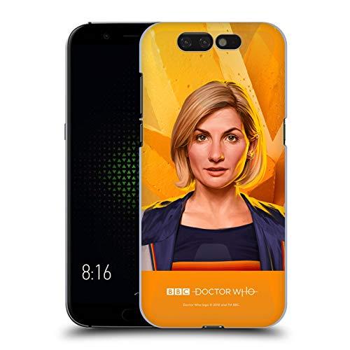 Head Hülle Designs Offizielle Doctor Who Jodie Whittaker Solo Portraits Harte Rueckseiten Handyhülle Hülle Huelle kompatibel mit Xiaomi Black Shark