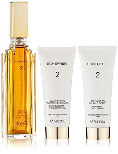 Parfums Scherrer Paris Scherrer 2 Eau de Toilette Set, Eau de Toiltte, Donna, 100 ml & Lozione Corpo, 75ml & Gel Sciumadoccia, 75 ml