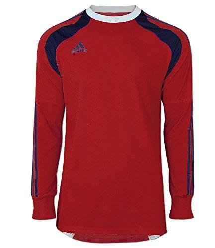adidas Fußball Trikot Torwarttrikot Goalkeeper Jersey Adizero (rot-blau (Poppy), D6 (50) M)