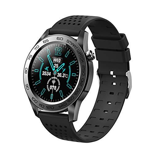 Relojes inteligentes para hombres y mujeres, pantalla táctil completa de 1.54 ', IP67 a prueba de agua, reloj de seguimiento de actividad física con monitor de frecuencia cardíaca y sueño, reloj int