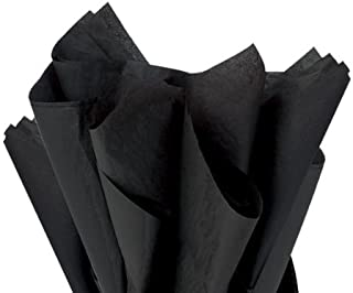 Brand New Black Bulk Tissue Paper 15 x 20-100 Sheets Premium Quality Tissue Paper A1 bakery supplies Made in USA