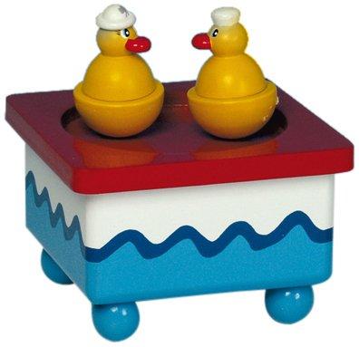 "MusicBox Kingdom 43721 Dancing Ducks Music Box Playing ""All My Ducklings"""