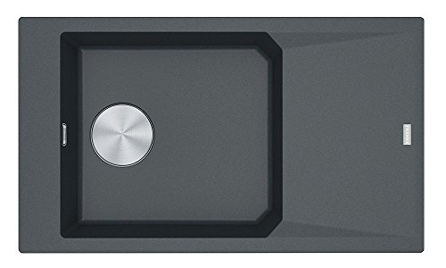 Franke Kitchen Sink Made of Granite (Fragranite) with a Single Bowl FX FxG 611-86-graphite 114.0528.651, Graphite