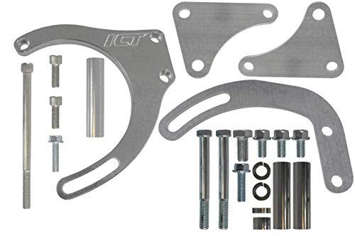 ICT Billet BBC Alternator/Power Steering Pump Accessory Drive Bracket Kit 551490