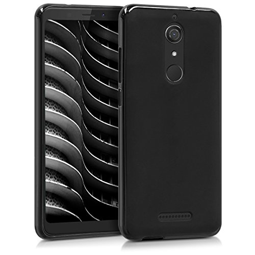 kwmobile Wiko View Hülle - Handyhülle für Wiko View - Handy Case in Schwarz matt