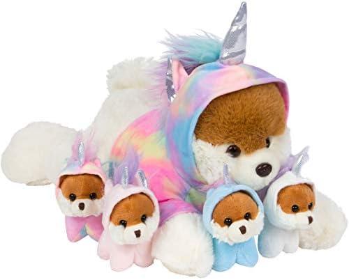 PixieCrush Unicorn Puppy Stuffed Animals for Girls Ages 3 4 5 6 7 8 Years Stuffed Mommy Dog product image