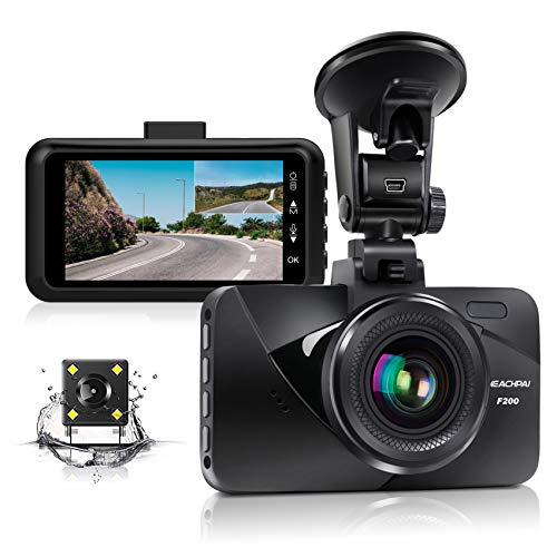 "Dual Dash Cam Car Dashboard Camera Recorder FHD 1080P Front and Rear Cameras for Cars ,Driving Loop Recording ,3.0 "" IPS Screen 170°Wide Angle, G-Sensor, Night Vision, Motion Detection"