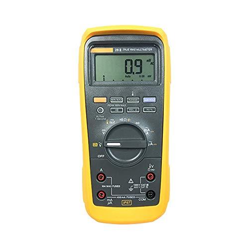 SCSY Professional Digital Industrial Multimeter, wasserdicht 20000 Count MSHA Multi Tester Kit Checker, gelb, 28-2ex