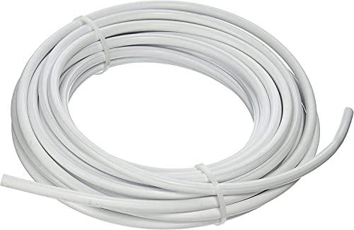 Blumat 3046 tubo per irrigazione, tubo di alimentazione da 8 mm e lunghezza di 50mt colore bianco, tubo irrigazione a goccia super flessibile di facile utilizzo per uso in superficie e interrato