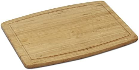 FURINNO Dapur Bamboo Cutting Board with Drip Groove Natural product image