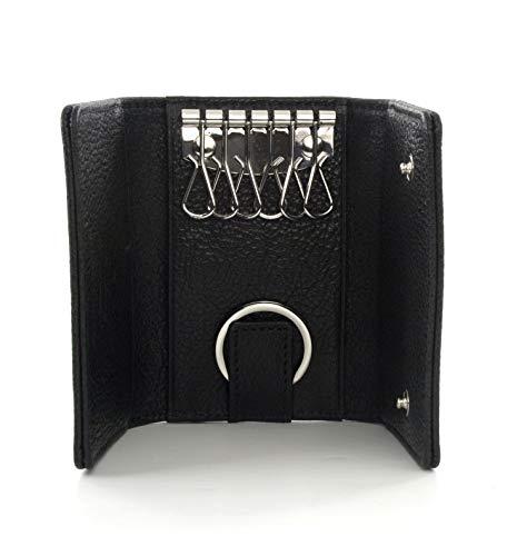 Vivienne Westwood Leather Key Holder Wallet, Black