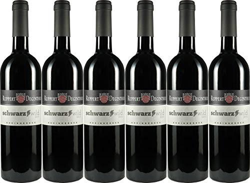 Ruppert-Deginther Schwarzwild Rotwein-Cuvée 2018 Trocken (6 x 0.75 l)