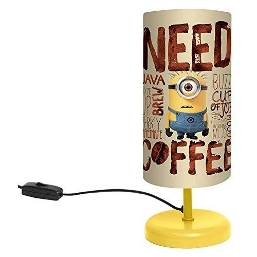Nachttischlampe Minion, 29 cm, Need Coffee- Ich einfach unverbesserlich