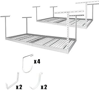 SafeRacks 4' x 8' 2-Rack Overhead Storage Kit