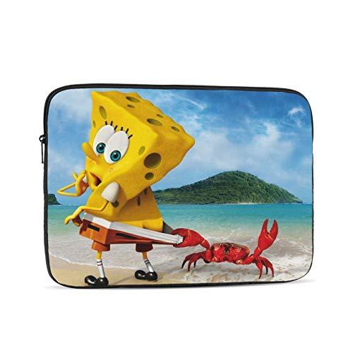Spong-Ebob Square-Pants Laptop Sleeve Case Briefcase Cover Protective Bag Compatible 10/12/13/15/17 Inch Laptop & Tablet MacBook Air MacBook Pro Ipad
